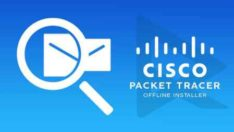 Cisco Packet Tracer – Ders 62 1 Router 4 Different Network